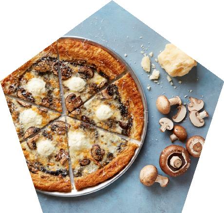 Oath Pizza Muffled Trushroom Pizza