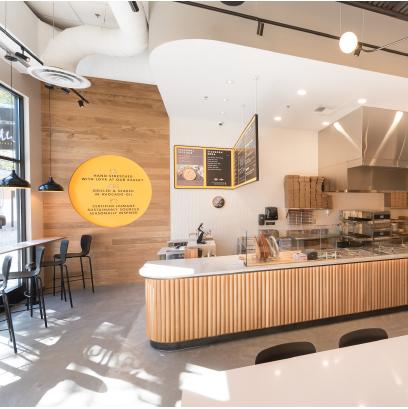 Minimal Restaurant Interior