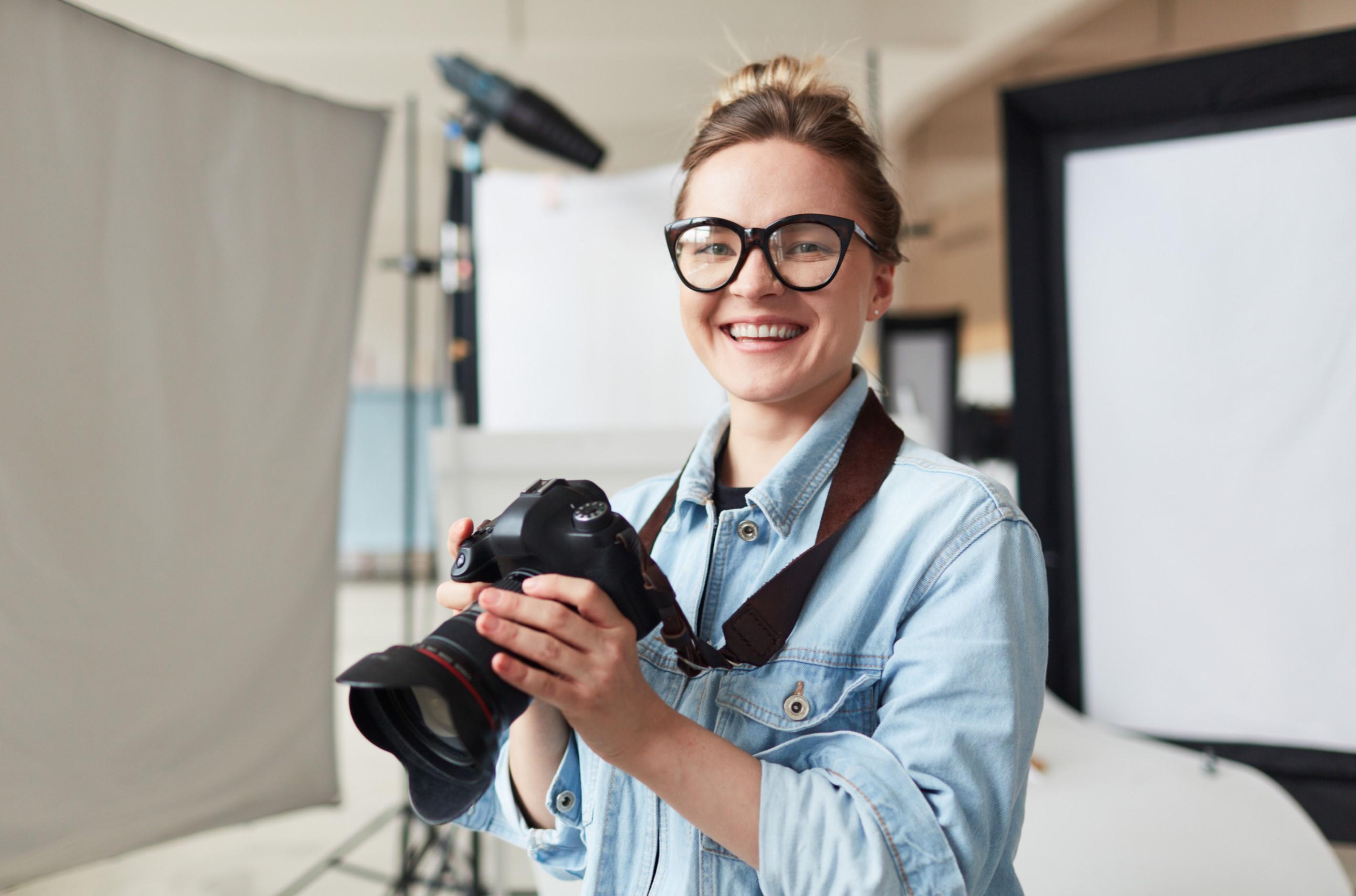 Devenir photographe auto-entrepreneur