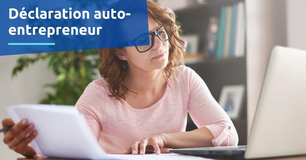 formulaire déclaration auto-entrepreneur