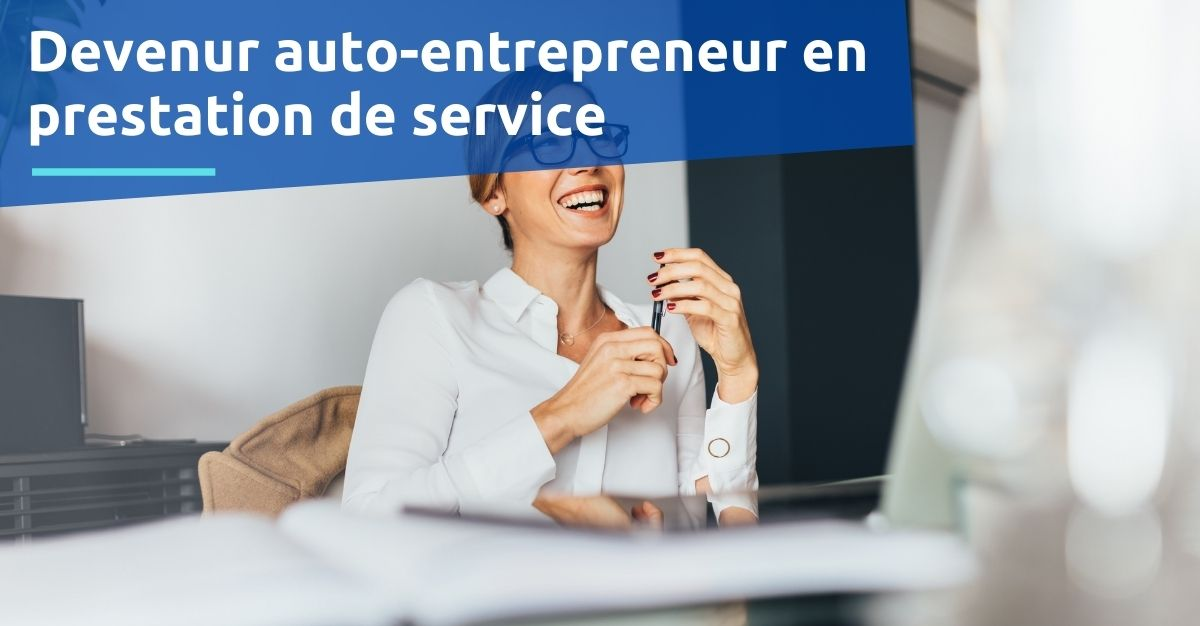 Auto-entrepreneur en prestation de service