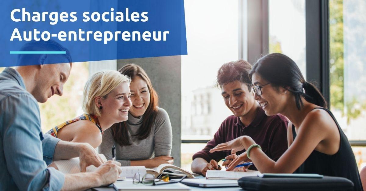Charges sociales auto-entrepreneur