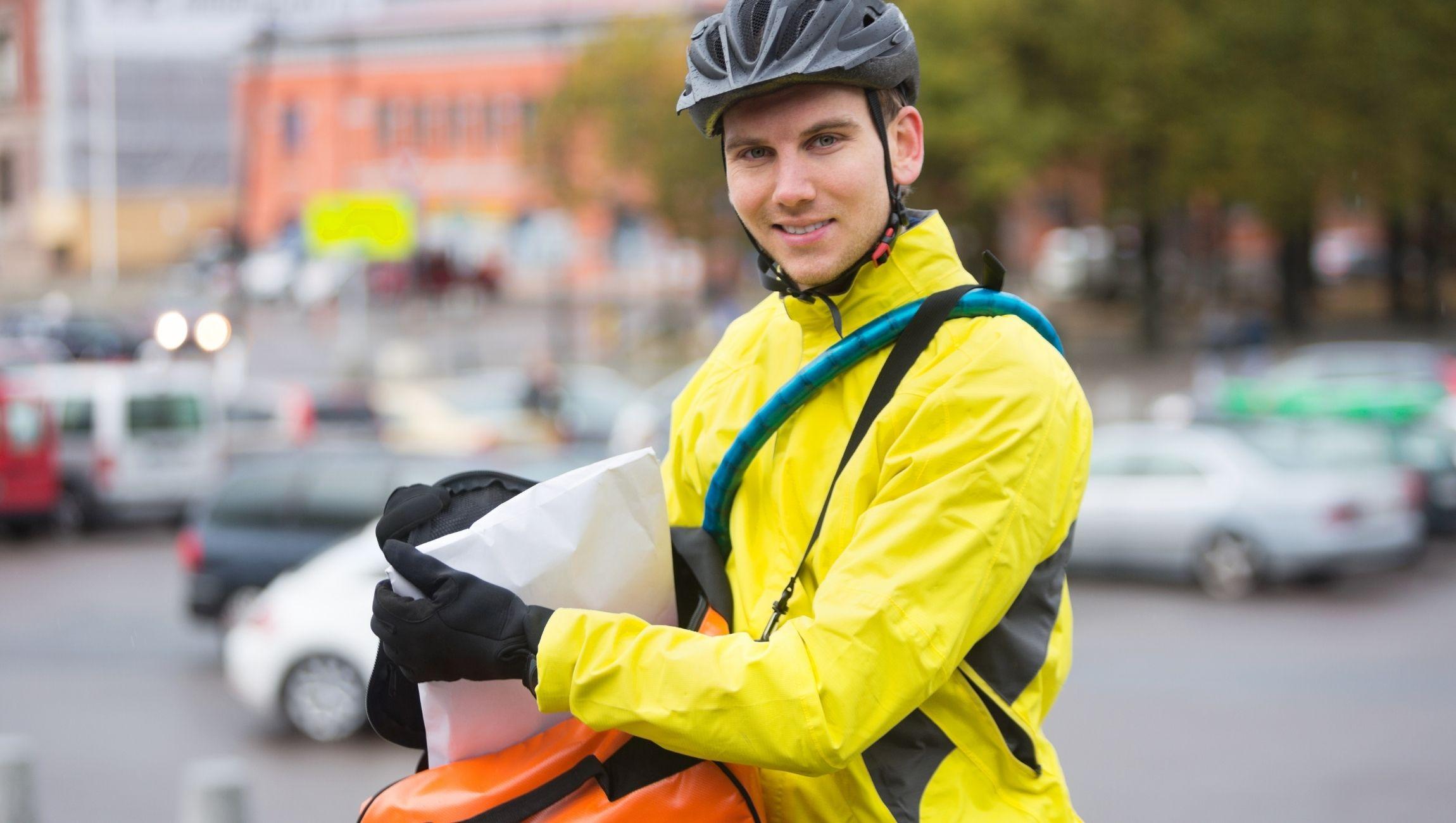 Devenir coursier à vélo auto entrepreneur