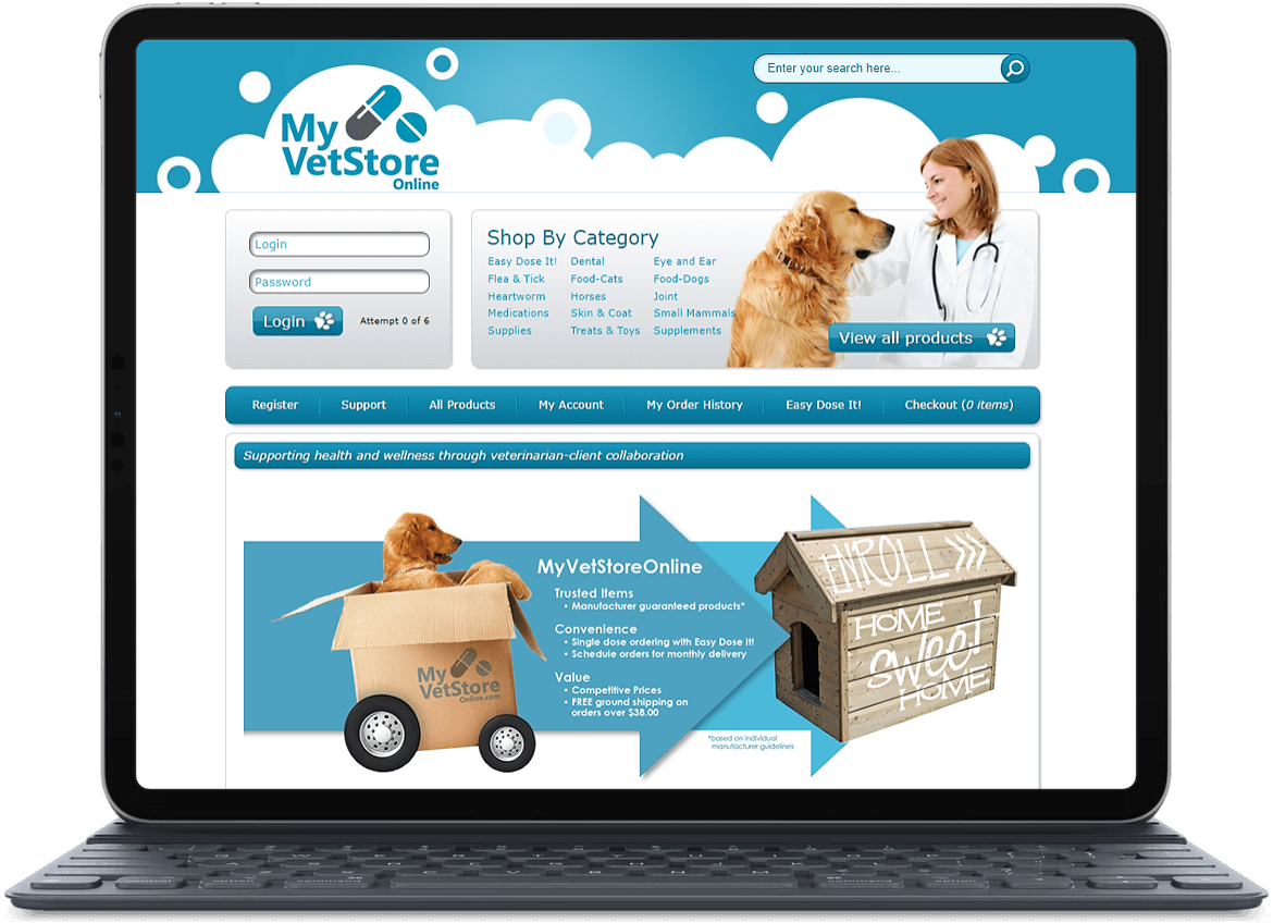 University Veterinary Care Center Online Pharmacy