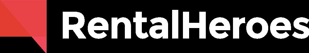 Rental Heroes Logo (Reversed)