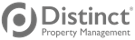 Distinct Property Management Logo