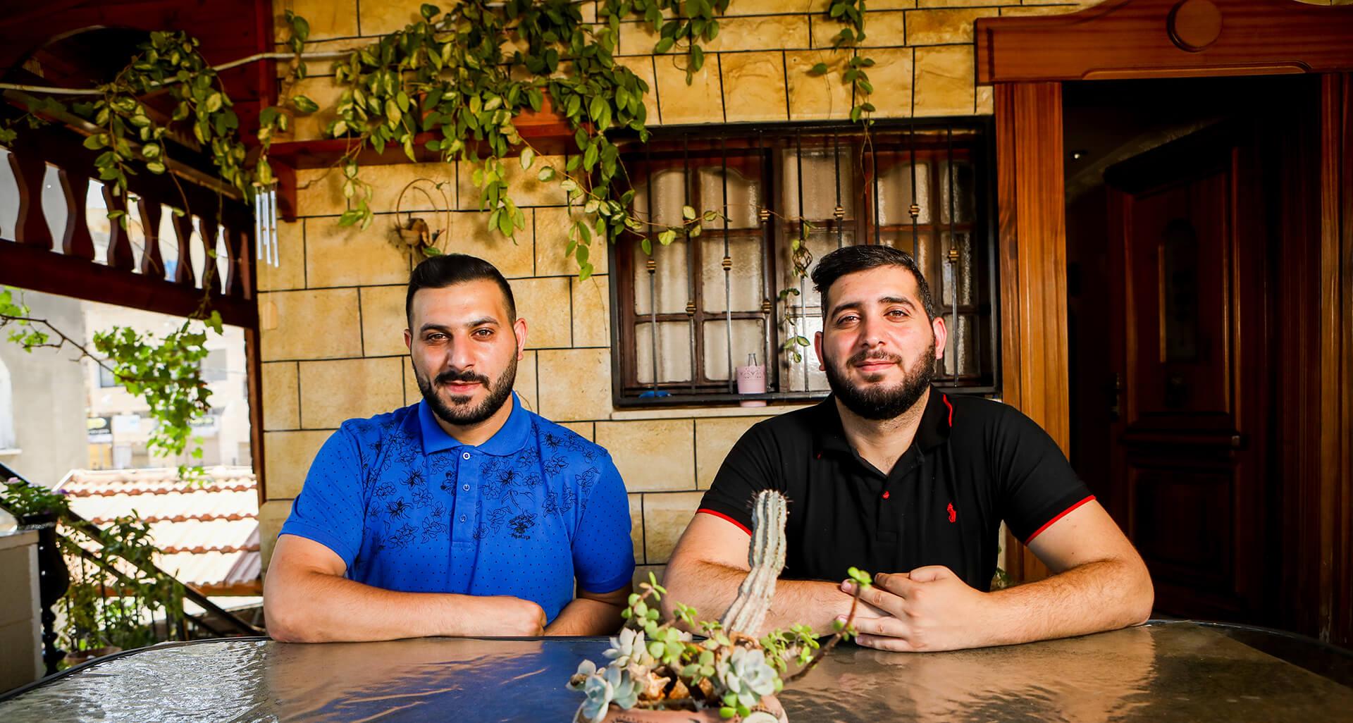 האחים עלי, עדי (מימין) ואמיר. צילומים: שלומי יוסף