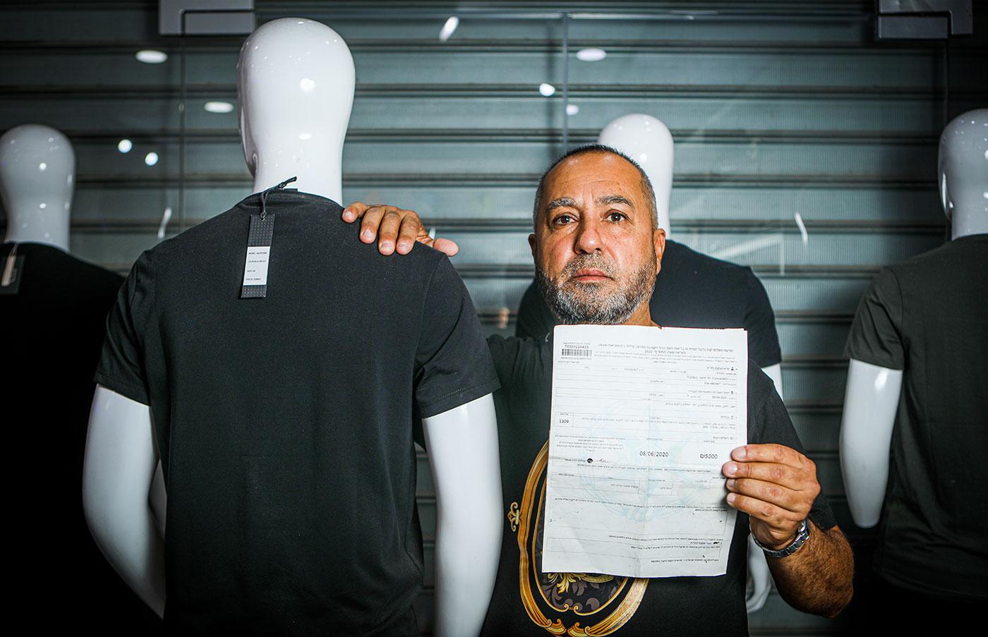 בתמונה: מרואן חמדוני (צילום: שלומי יוסף)