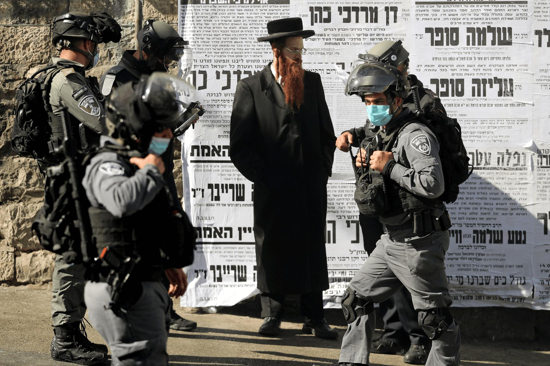 ירושלים, ינואר 2021. צילום: רויטרס