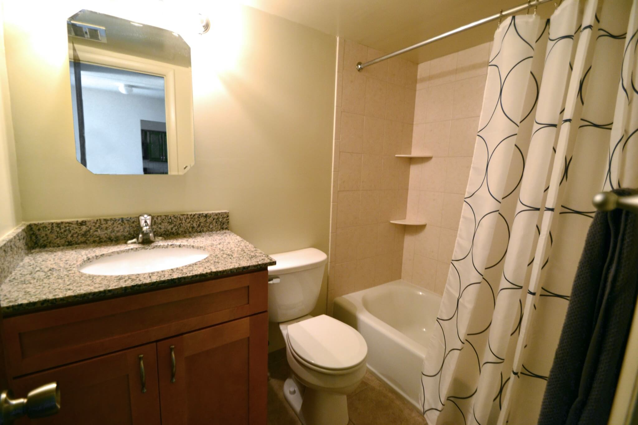 2 Bedroom Apartment Bathroom