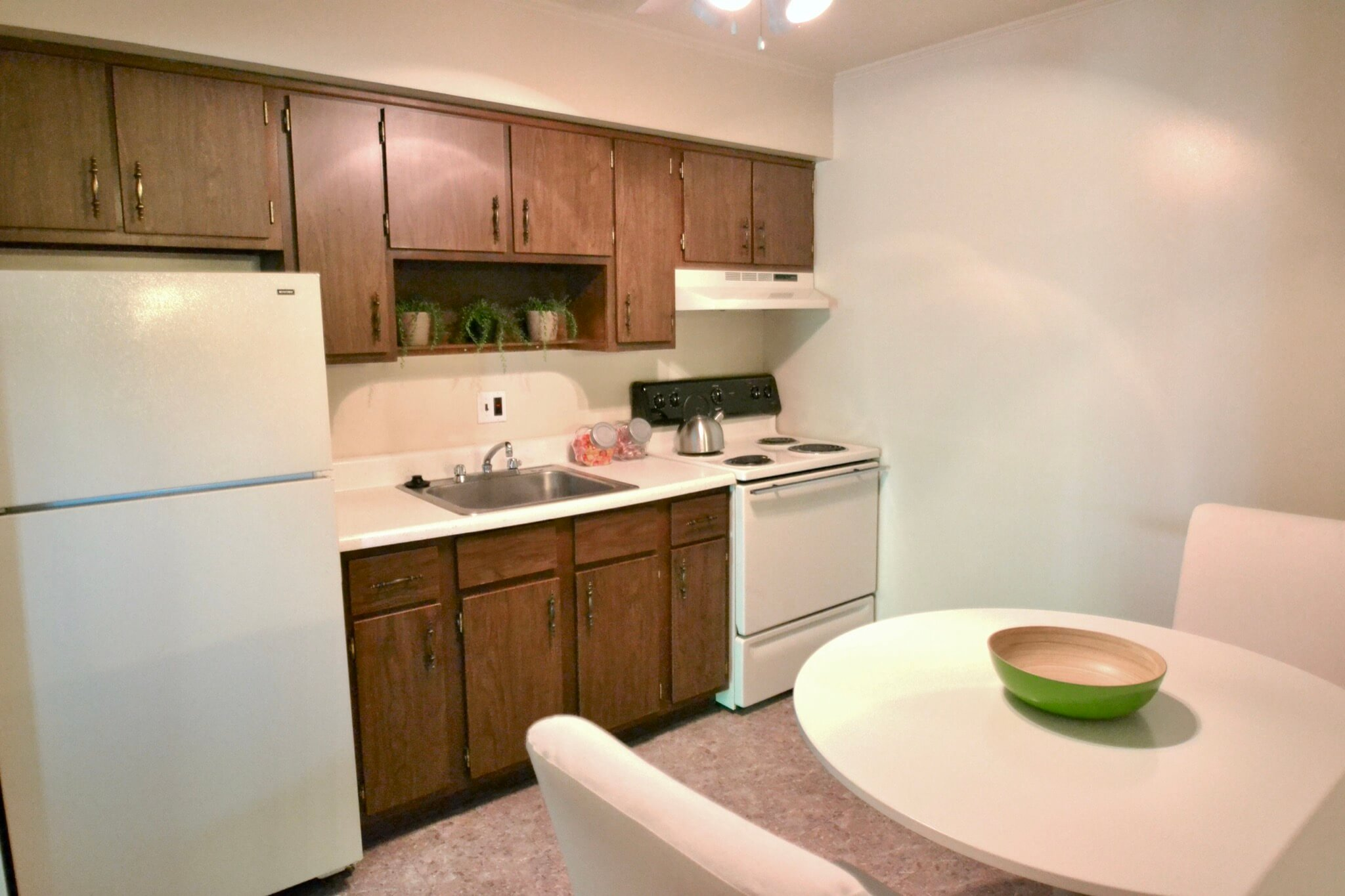 1 Bedroom Apartment Kitchen
