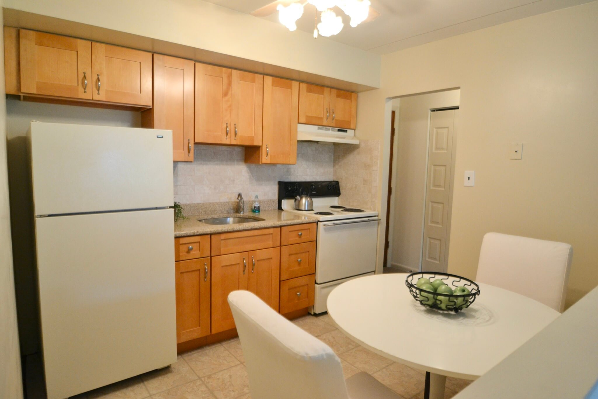 2 Bedroom Apartment Kitchen