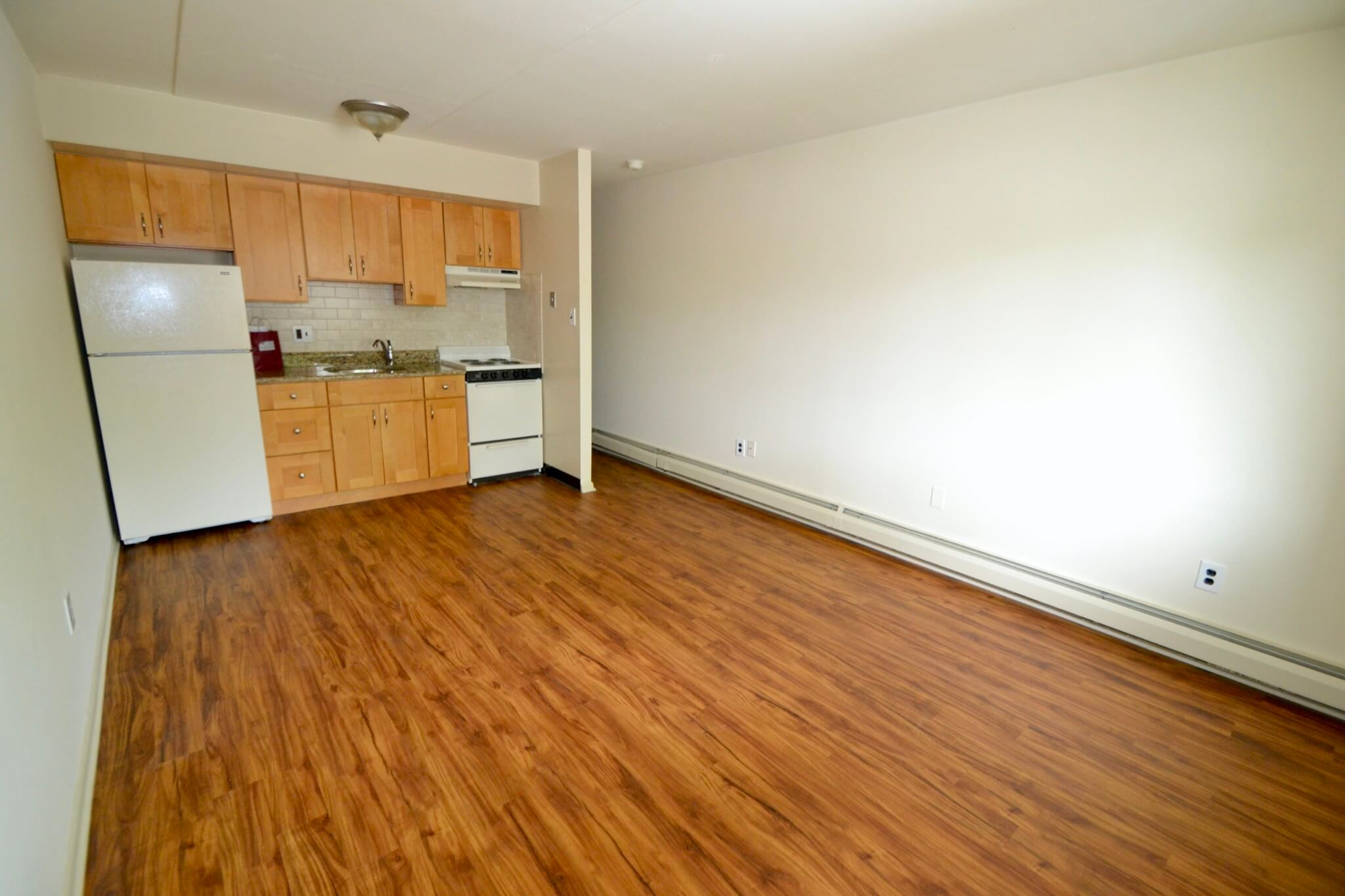 Remodeled Hardwood Floors