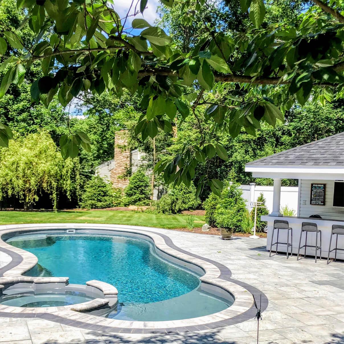 Fiberglass pool - Dell Outdoor