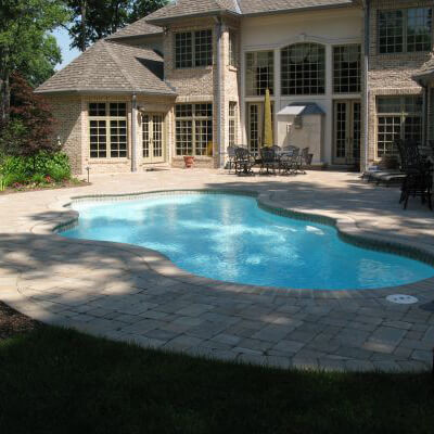 Gunite pool - Dell Outdoor