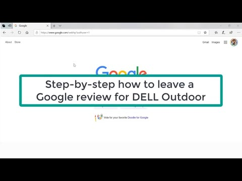 How to Leave a Google Review for DELL Outdoor