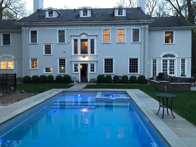 Inground Pools NJ - Dell Outdoor