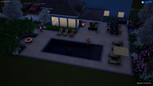 3d pool designs