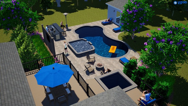 Stunning 3D Pool Designs: Envision Your Dream Pool