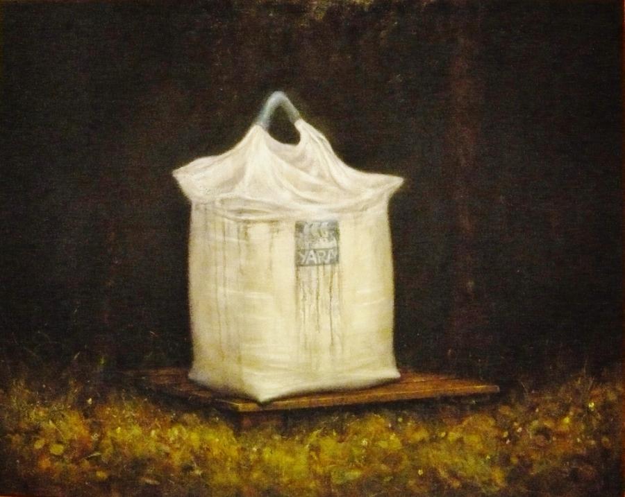 A bag of fertilizer from Yara