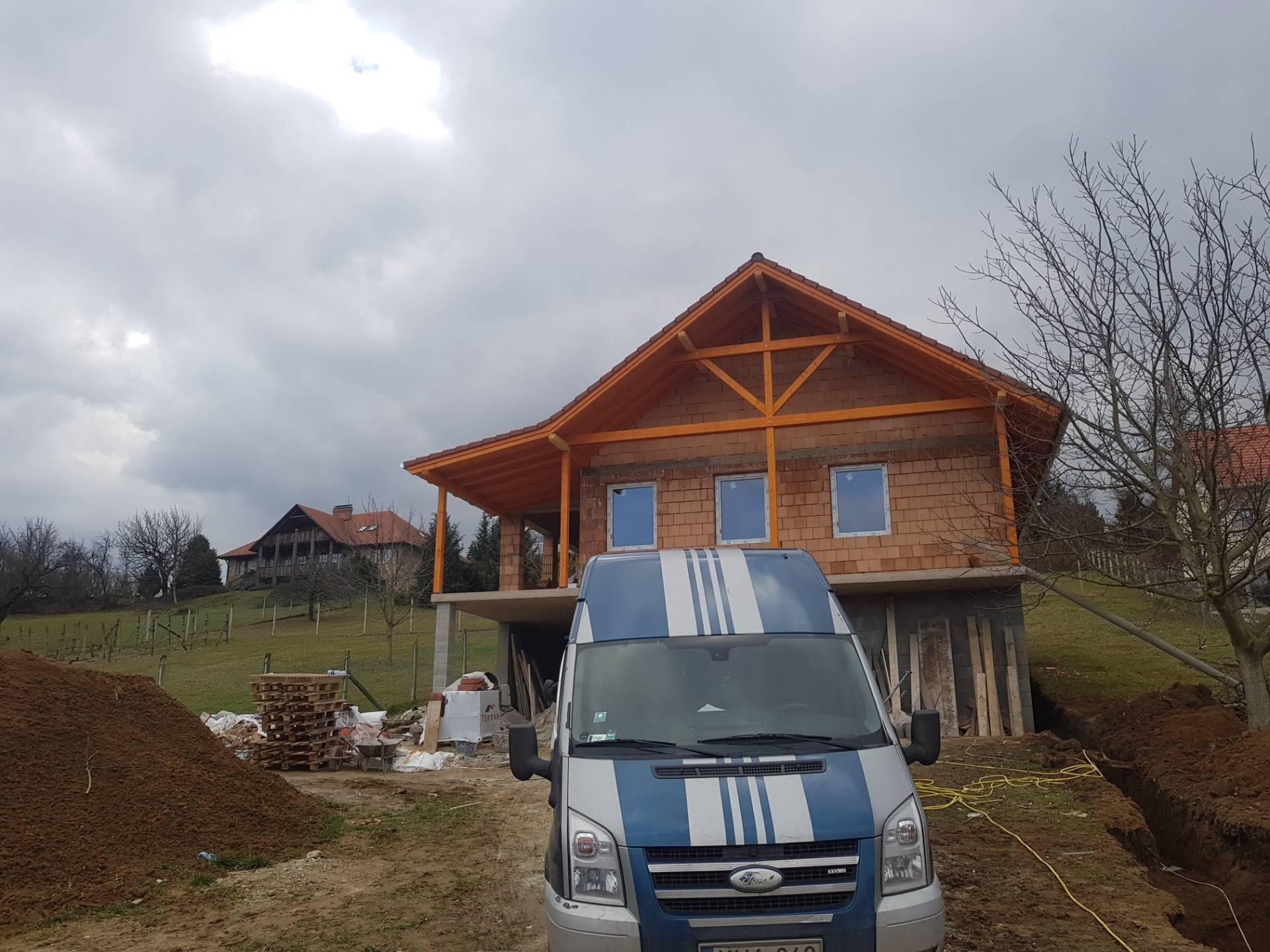 Ablakcsere most furgon és elkészült családi ház