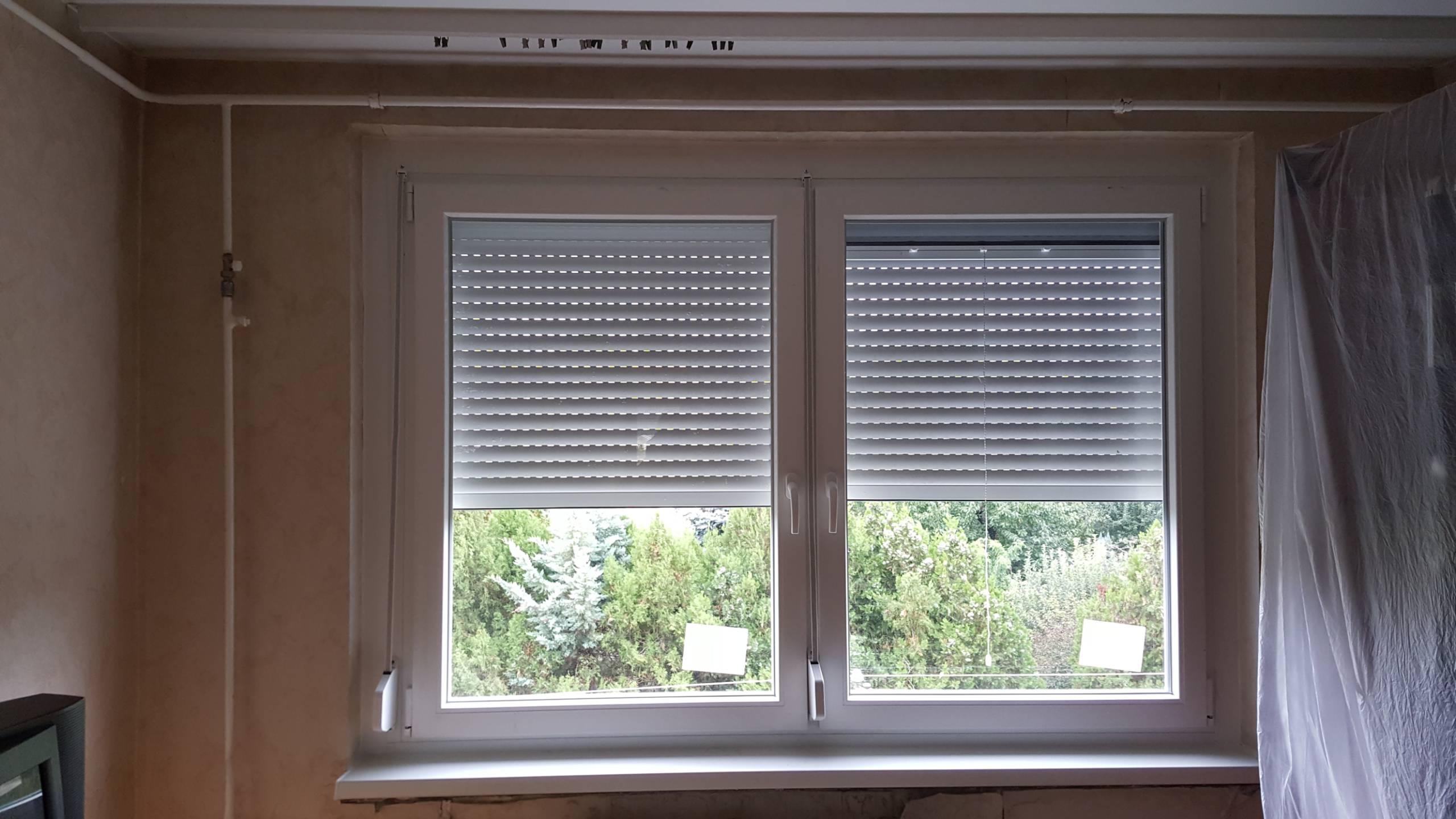 Dupla ablak és redőny