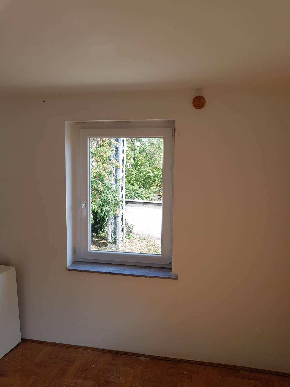 Napfényes nappali új ablakkal