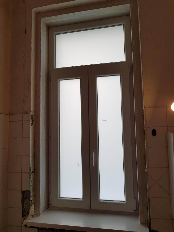 Tégla lakás kicserélt ablak