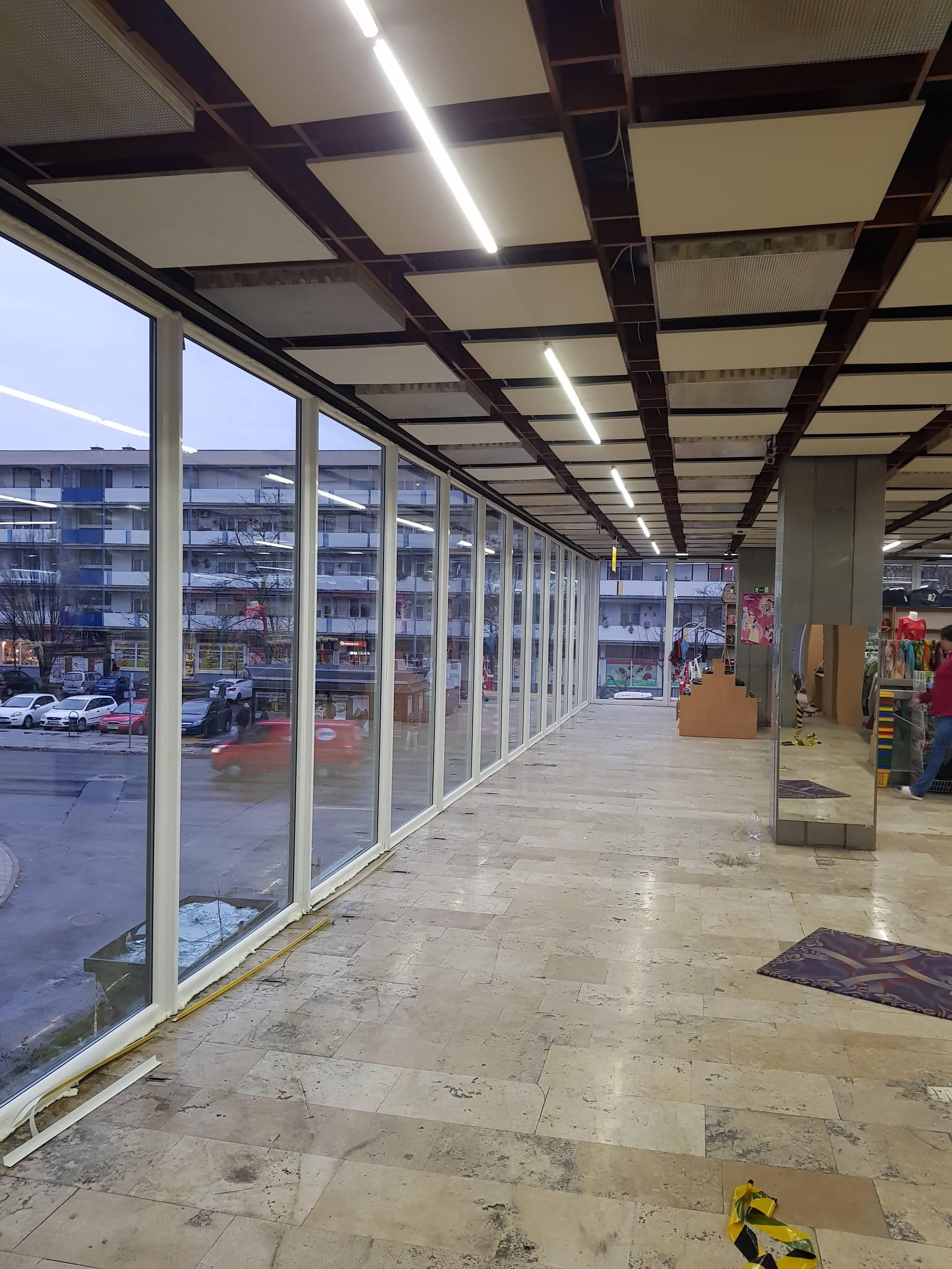 Ablakcsere most Domus Áruház ablakcseréje