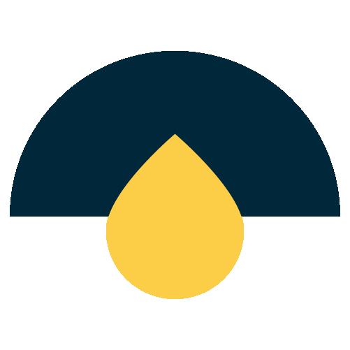 ultra-refined raw crude oil icon