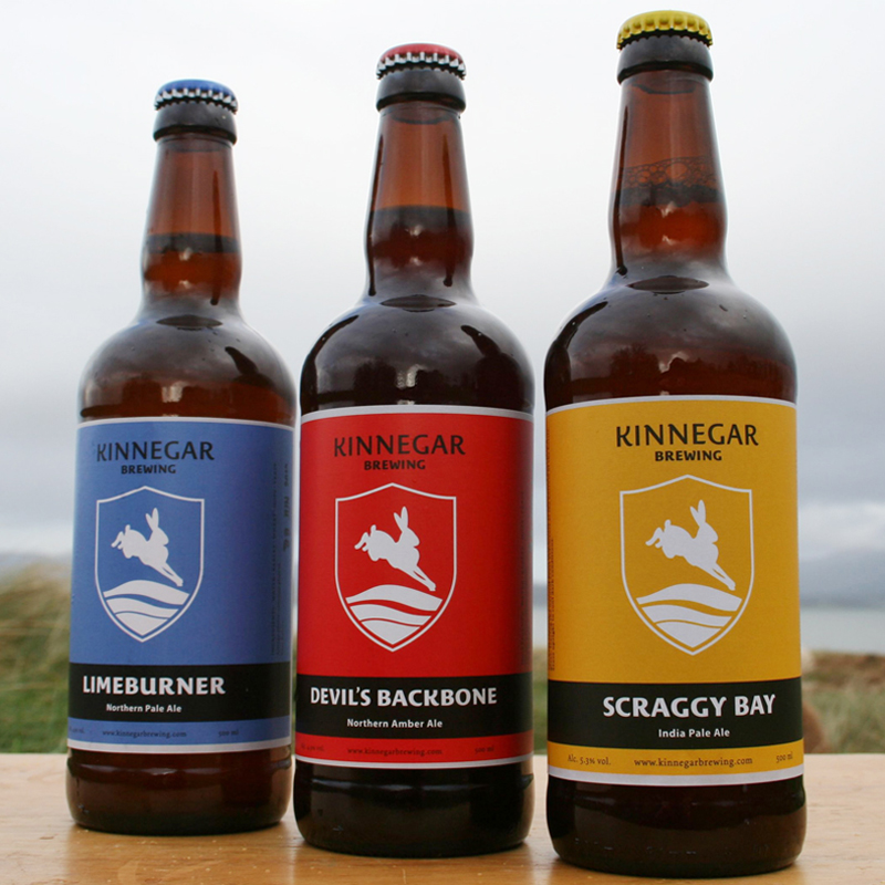 Kinnegar bottles, the early days.