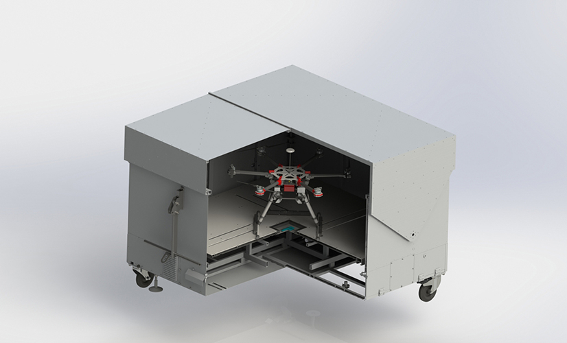 Drone Station case