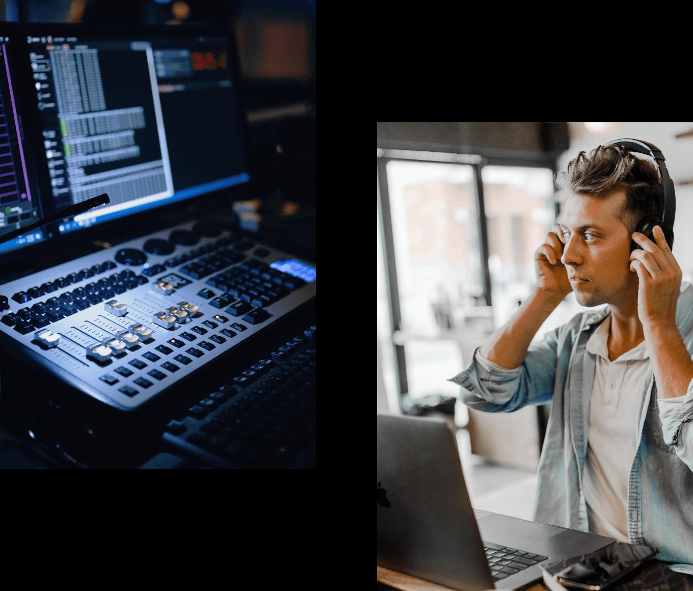 Audio iamge
