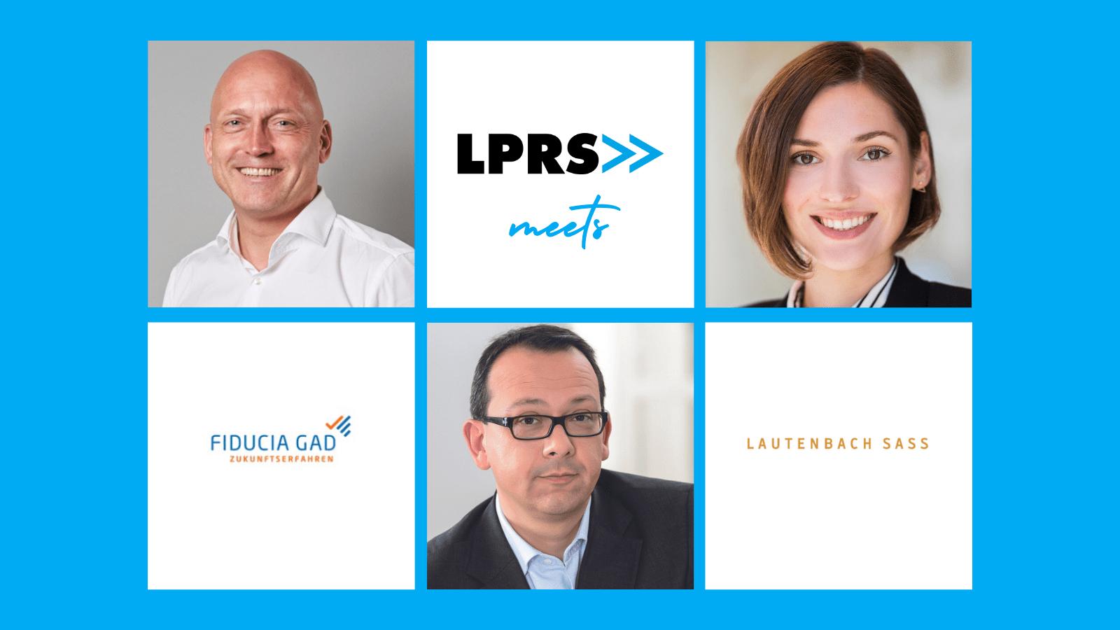 Kommunikation als Treiber der agilen Transformation: LPRS meets Lautenbach Sass und Fiducia & GAD IT AG
