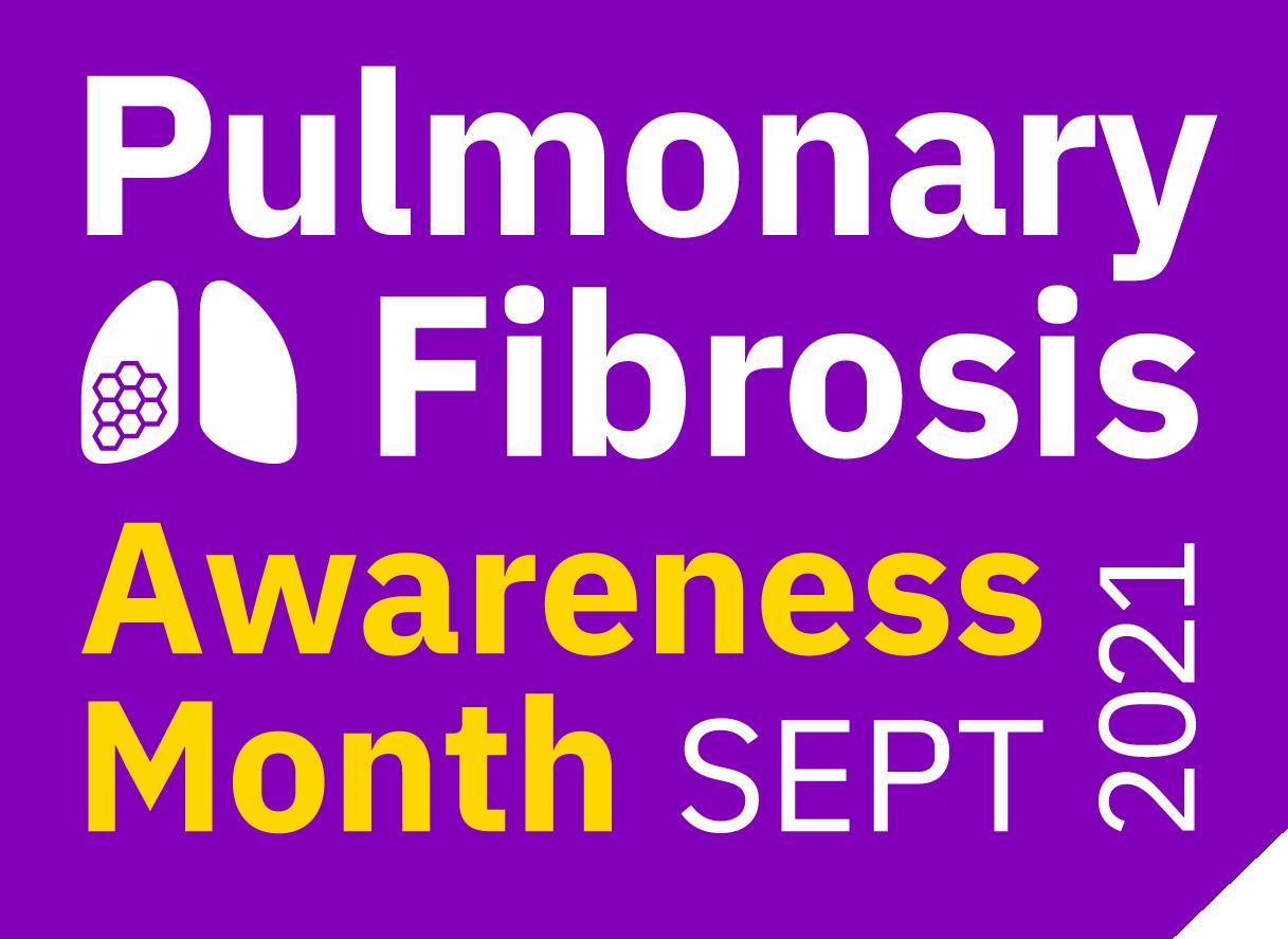 Pulmonary Fibrosis Awareness Month 2021 logo