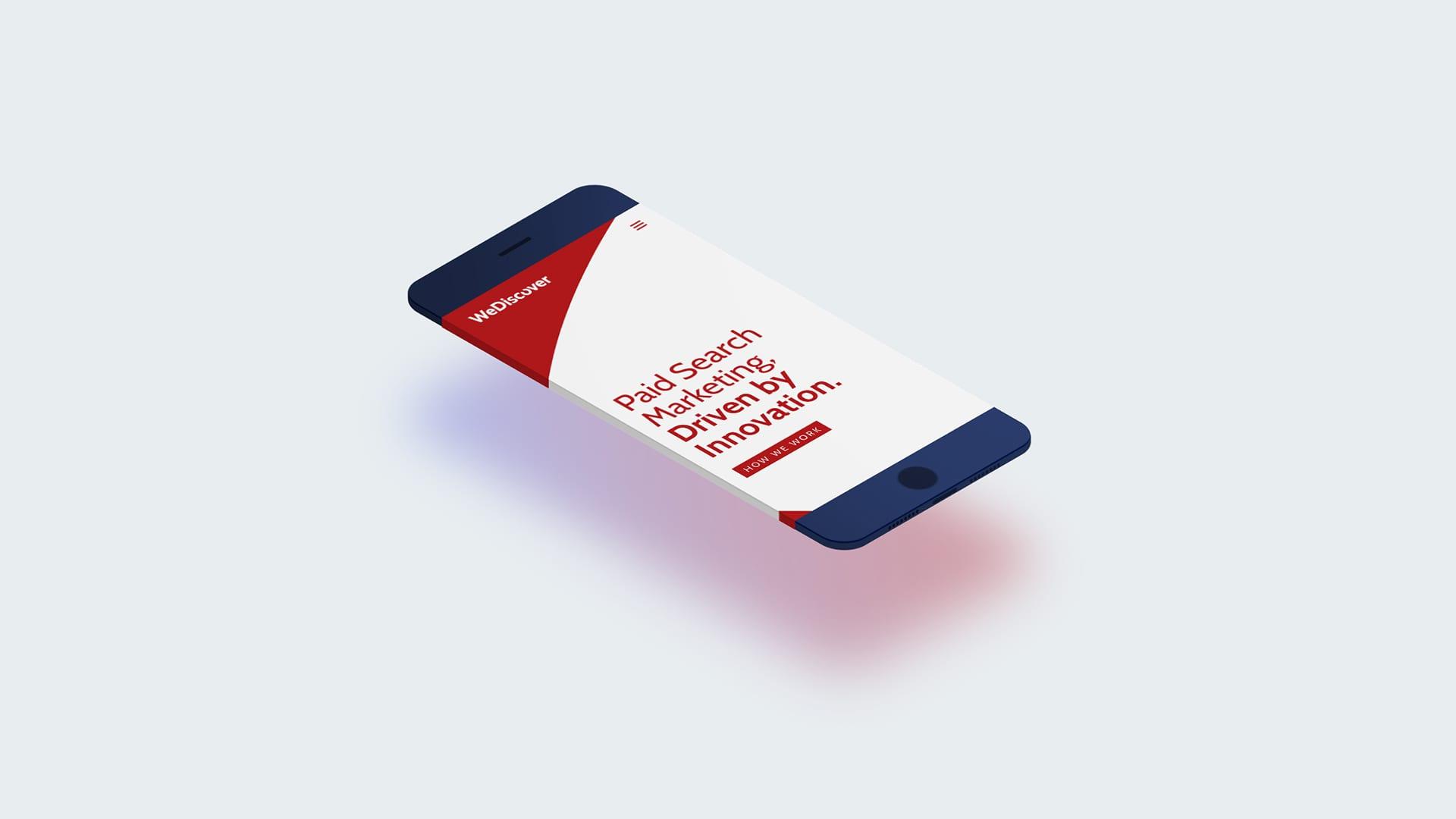 WeDiscover Mobile Website