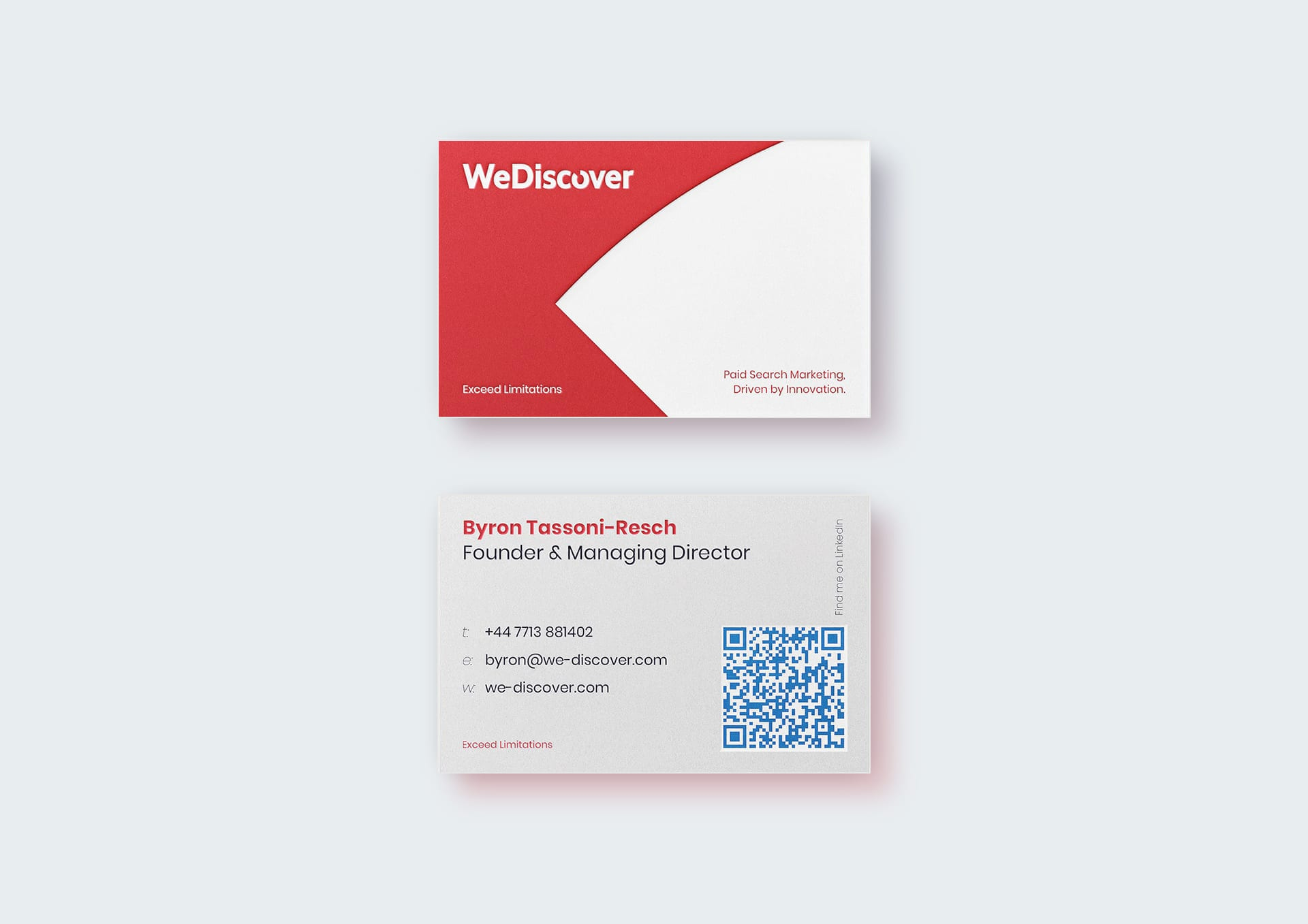 WeDiscover Business Card