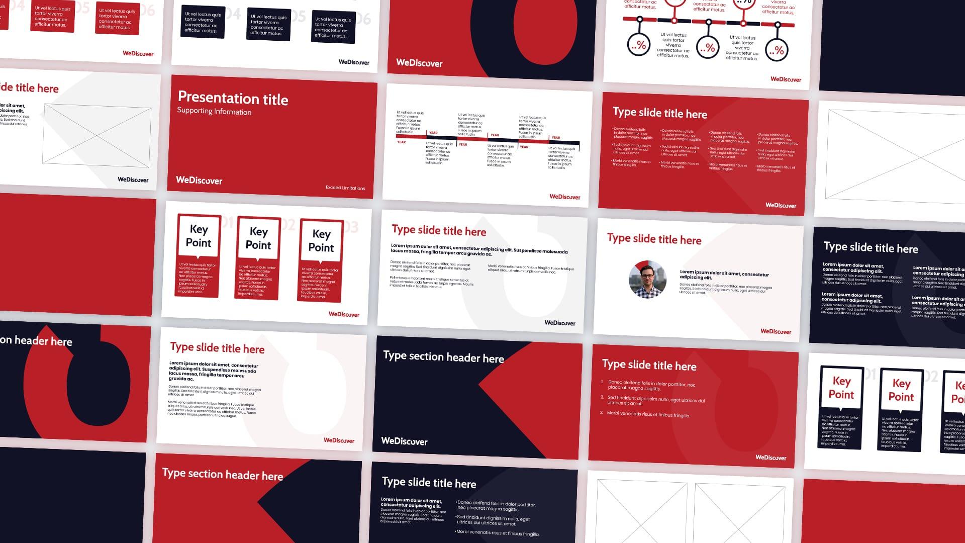 WeDiscover Presentation Slides