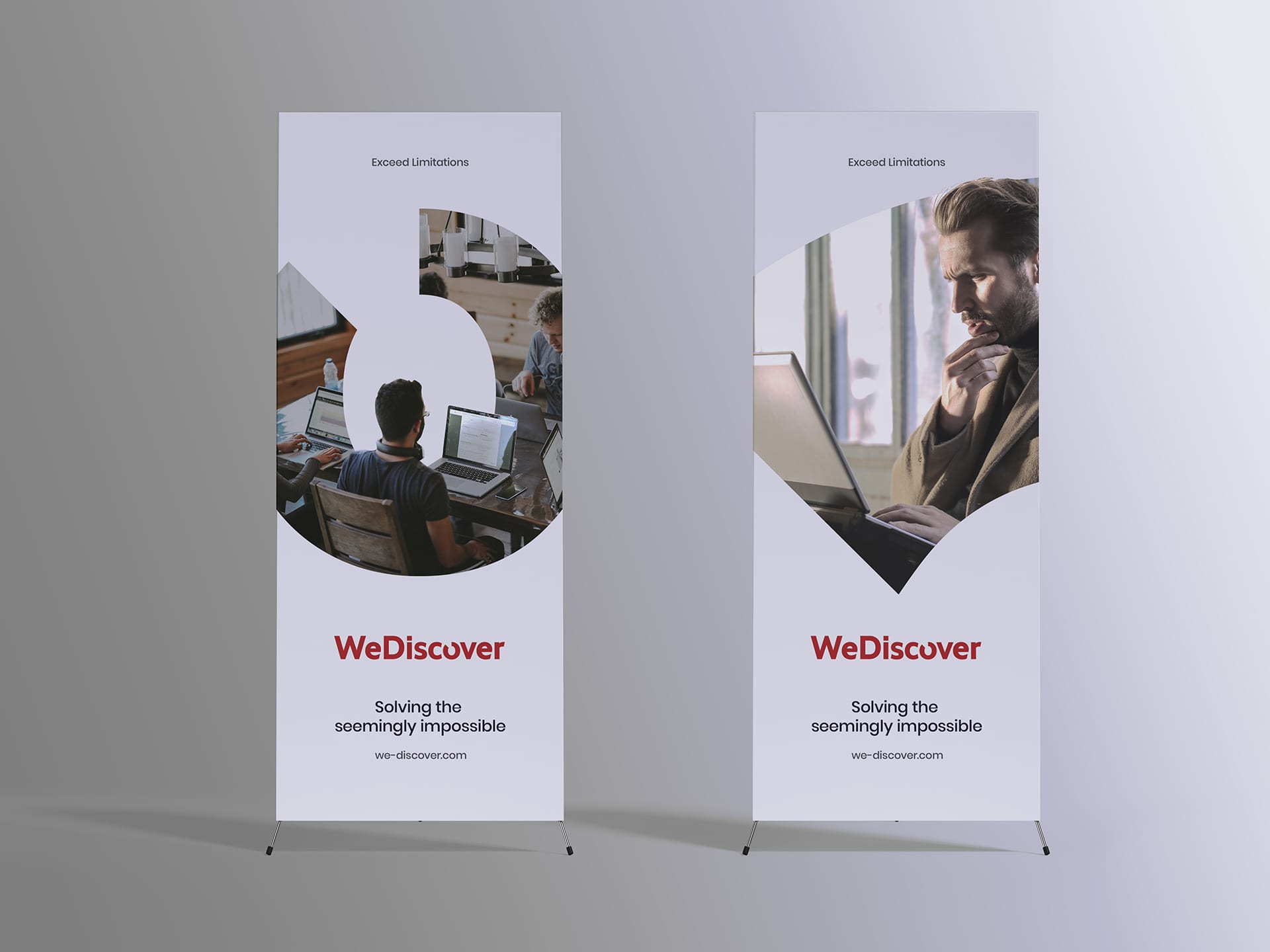 WeDiscover Banners