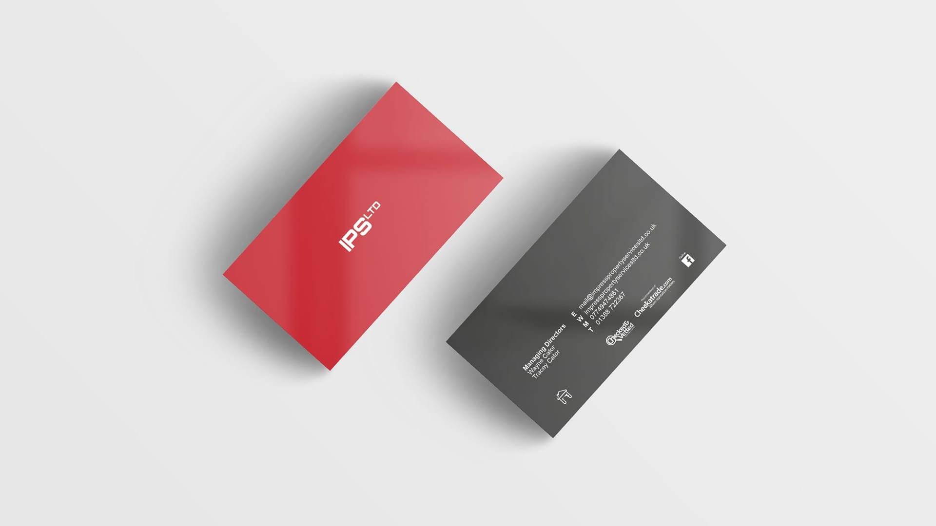 Impress Property Services Limited business cards