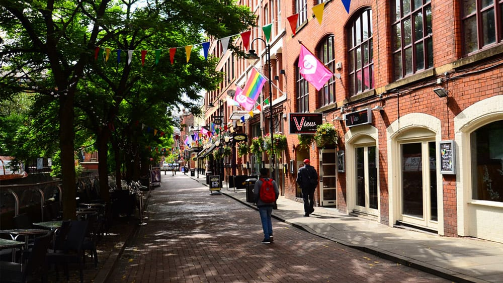 Manchester Gay Village, Canal Street