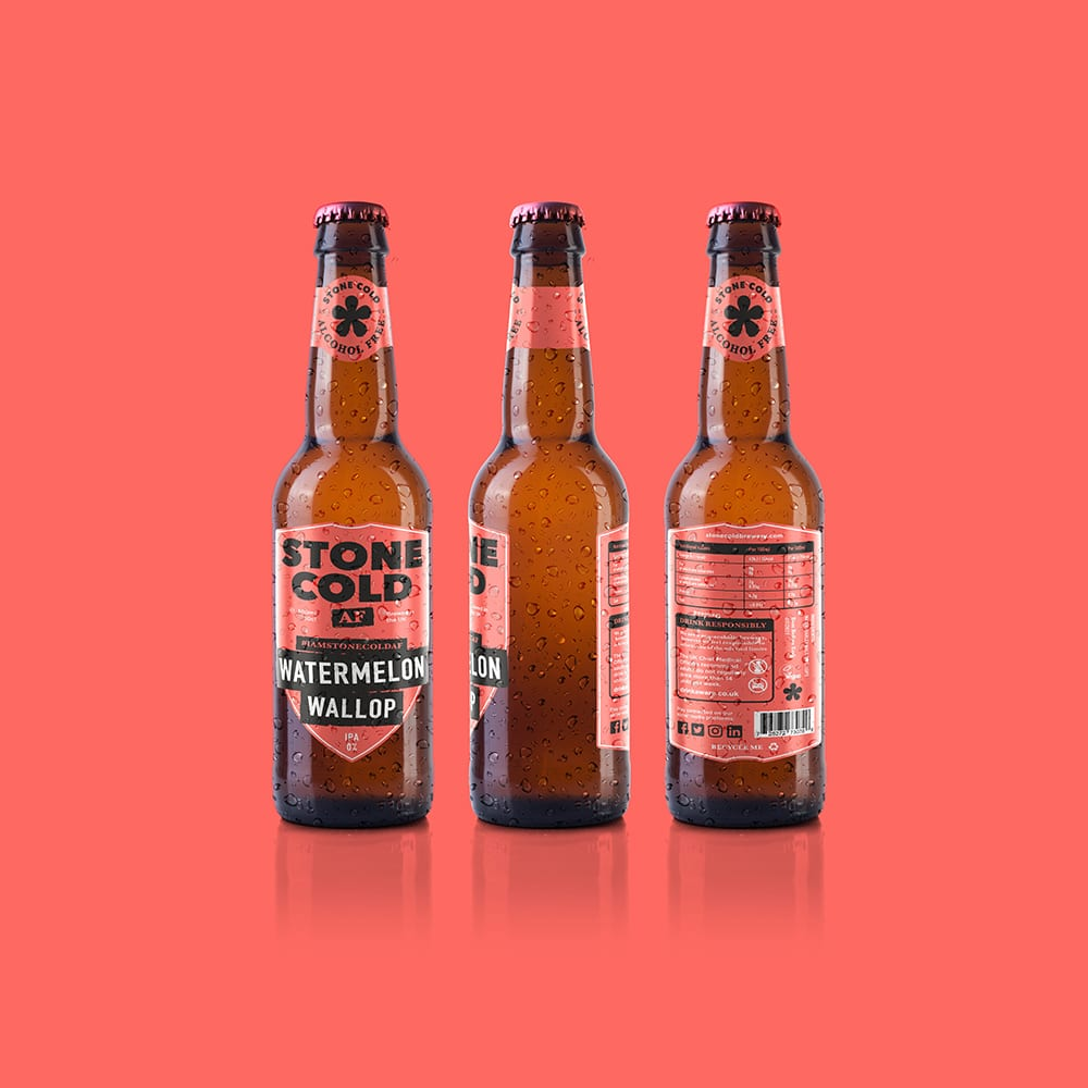 Stone Cold Alcohol Free Beer - Watermelon Wallop 0% IPA
