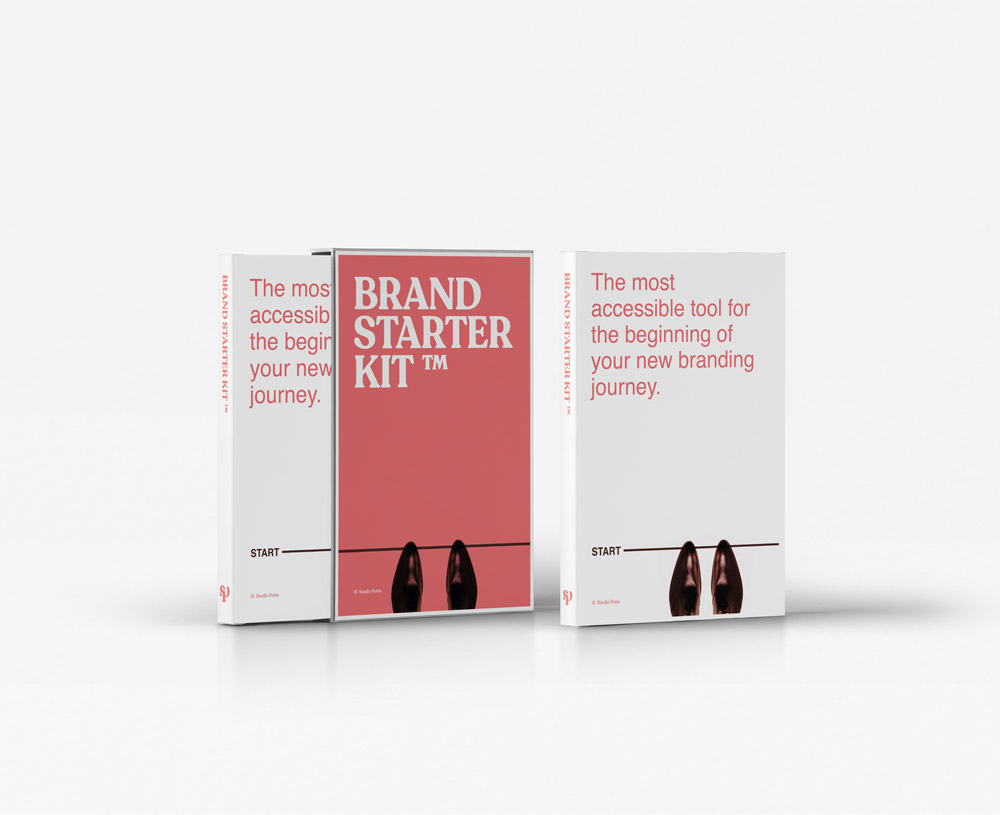 Affordable Brand Starter Kit to help sole traders, startups and small businesses with their brand and branding needs.
