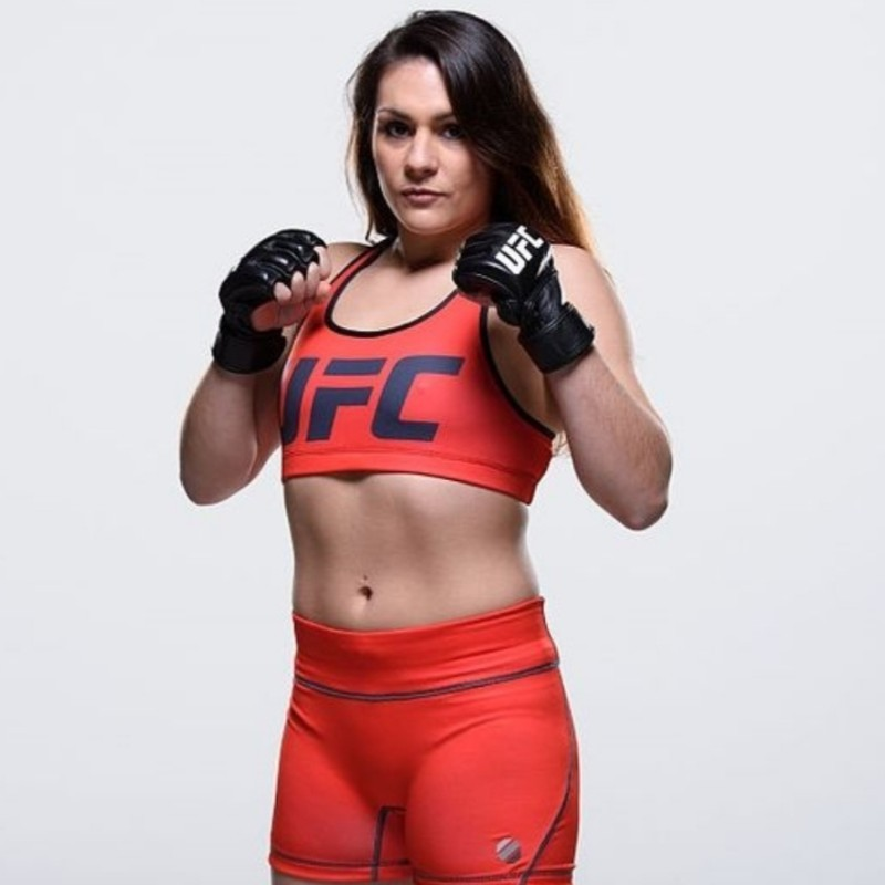"""Helen """"Hellraiser"""" Harper, Owner and Head Coach at small business HHH Self Defence and professional UFC Fighter & Athlete."""
