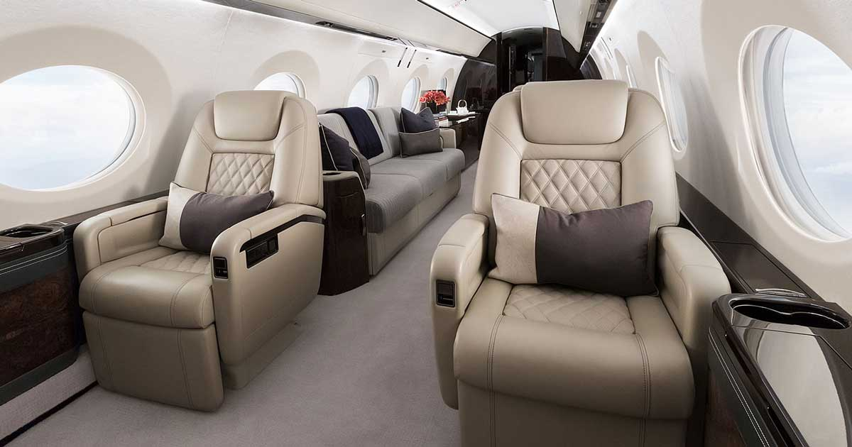 Executive Aircraft Interiors - Luxury Refurbishment ...