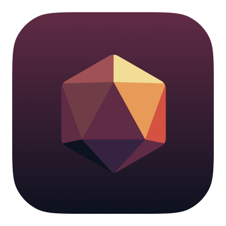 Twilight Dice App Icon for iOS