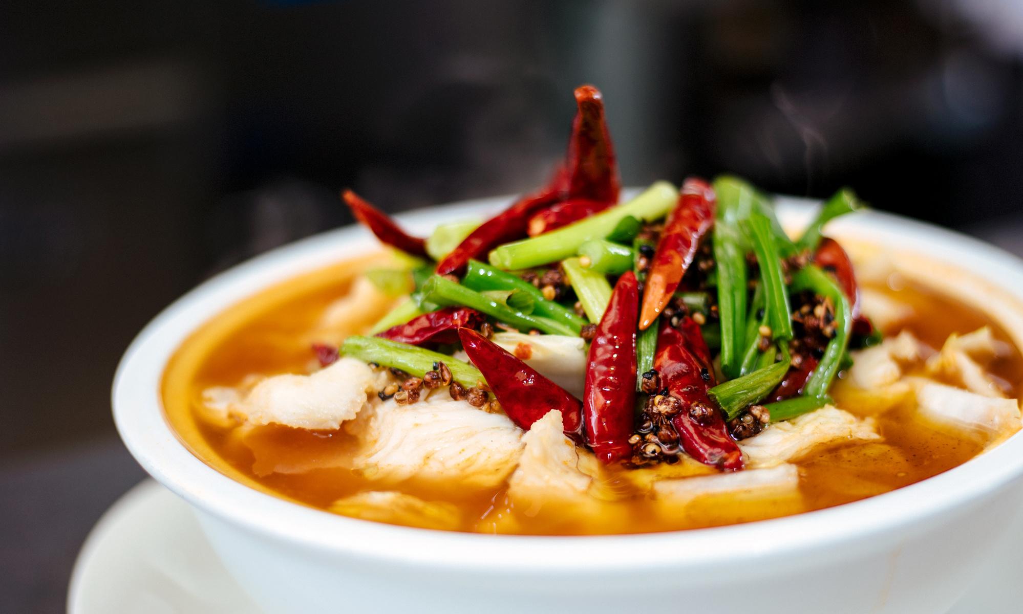 Szechuan stew