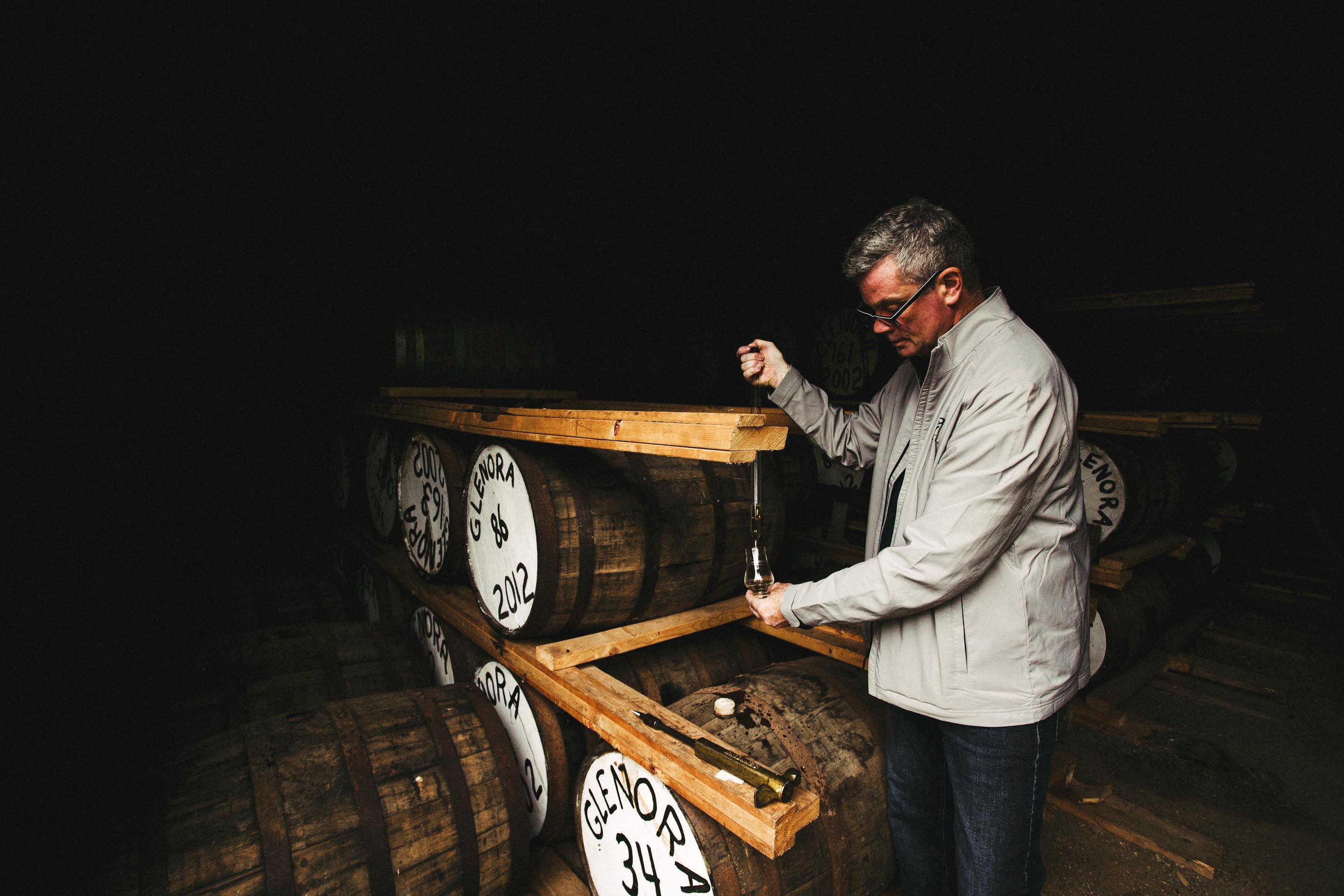 Glenora Distillery Barrel
