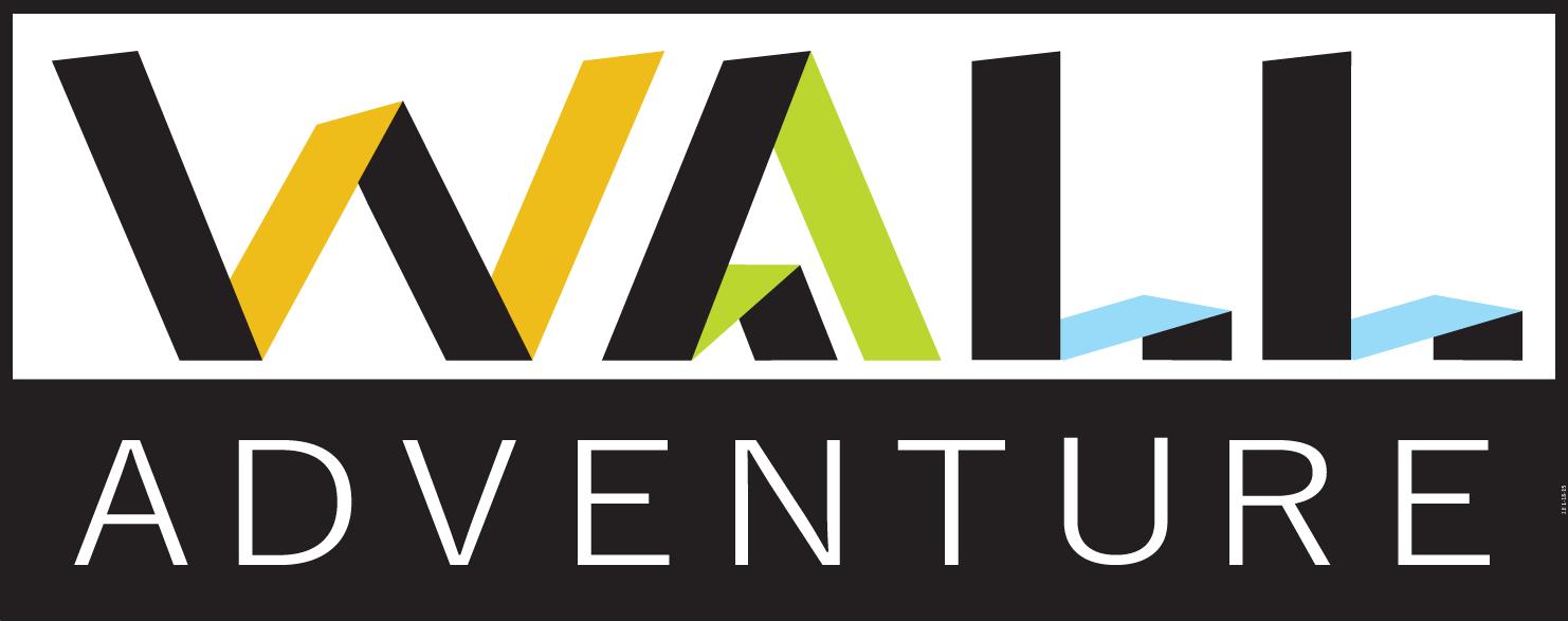 Wall Adventure Fabric Wall Decal Logo