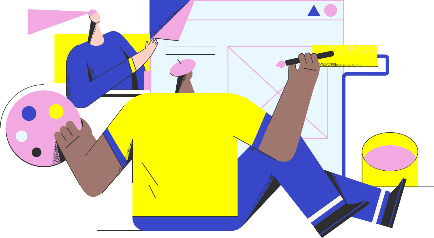 brand strategy illustration - highlighter ecommerce studio